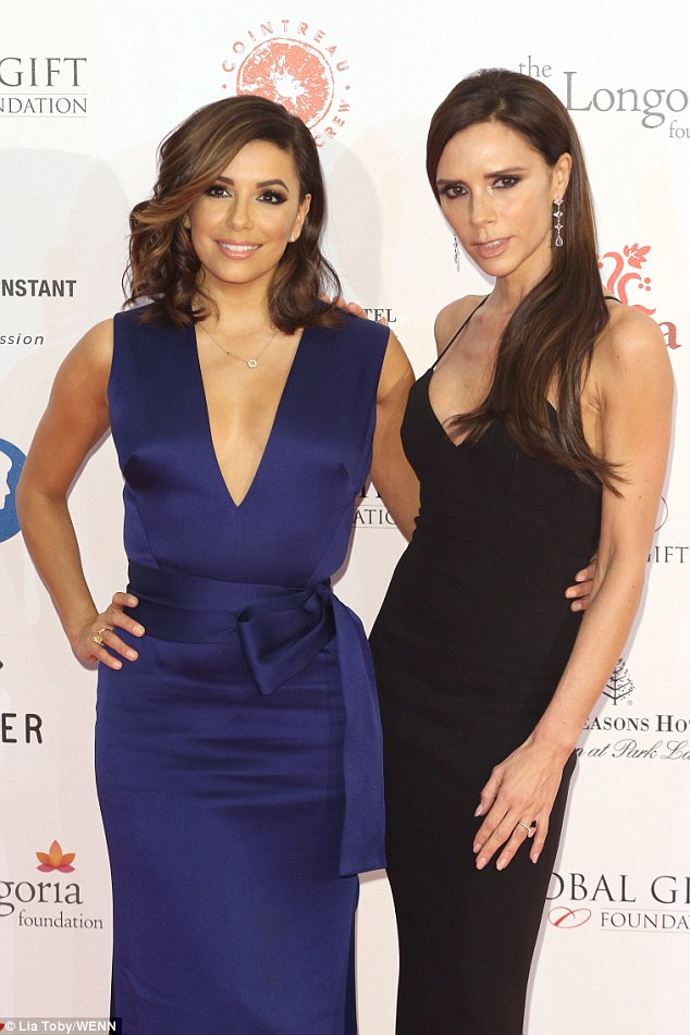 eva-longoria-and-victoria-beckham-in-victoria-beckham-at-the-global-gift-gala-london
