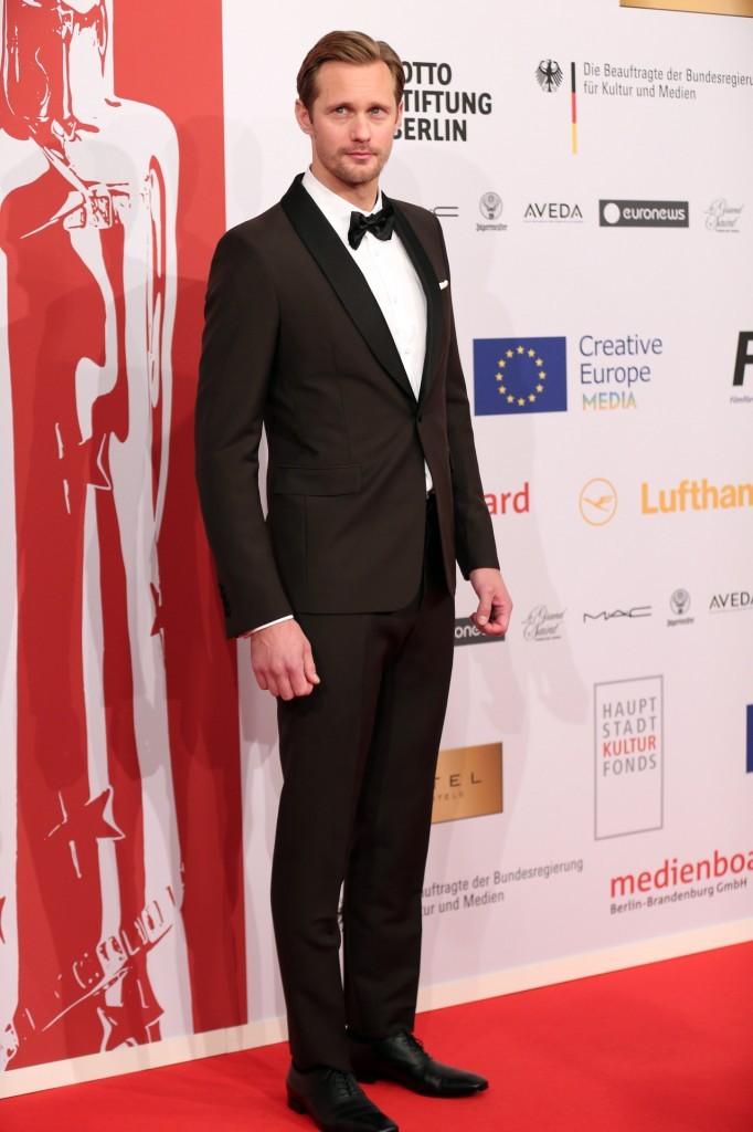 Alexander Skarsgard In Prada