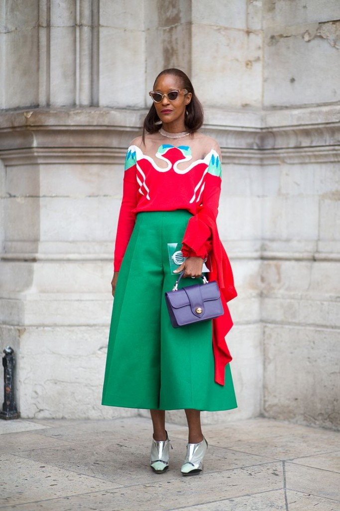 Michelle -Elie -in -Delpozo-paris-fashion-week-street-style-fall-2015