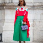 FASHION SIZZLER OF THE DAY : Michelle Elie wears a Delpozo -Paris Fashion Week