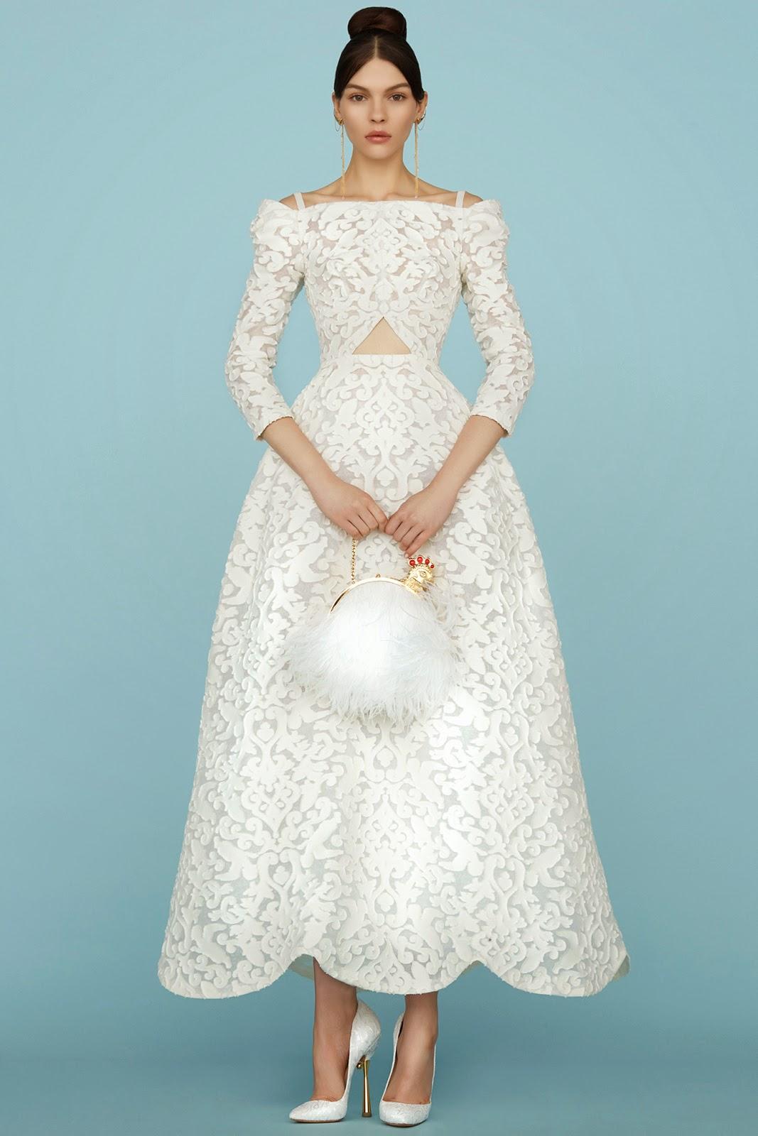 Ulyana Sergeenko- Spring- 2015 -Couture