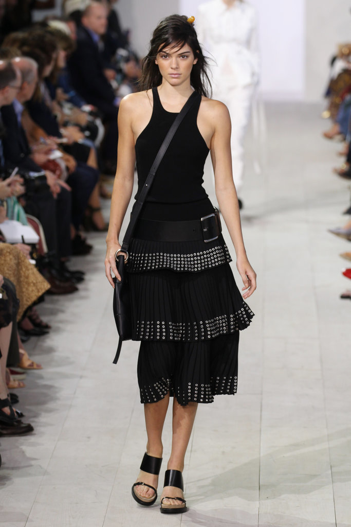 Michael-Kors-runway-Kendall-sported-edgy-all-black-1