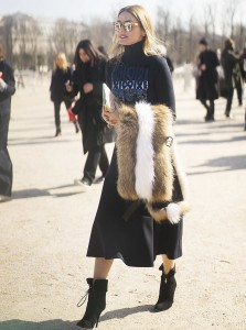 FASHION SIZZLER OF THE DAY : FASHION  WEEK STREETSTYLE