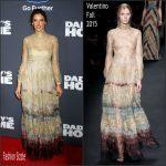 Alessandra Ambrosio In Valentino  At  'Daddy's Home' New York Premiere