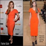 Amy Adams In Roland Mouret  At TrevorLIVE LA 2015