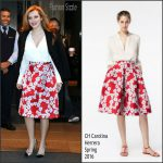 Bella Thorne In CH Carolina Herrera  At  Live! With Kelly and Michael