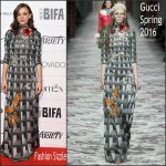 Carey Mulligan In Gucci  AT 2015 British Independent Film Awards