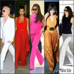 Celebrities in Flared Pants