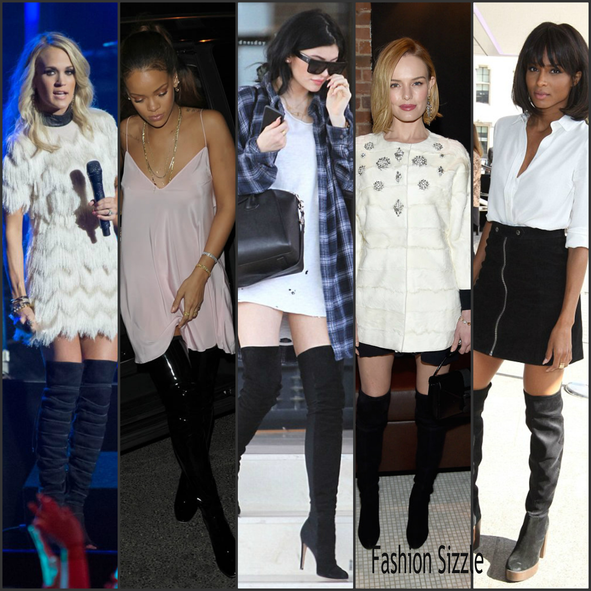celebrities rocking over-the knee -boots