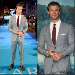 Chris Hemsworth  in Burberry – In The Heart Of The Sea' London Premiere