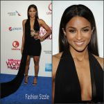Ciara  in Versus  Versace  -2015 Billboard Women in Music Event in New York