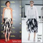 Daisy Ridley In Chanel  AT  'Star Wars: The Force Awakens' Tokyo Premiere