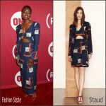 Danai Gurira In Staud at the ONE & (RED)'s 'It Always Seems Impossible Until It Is Done' Celebration