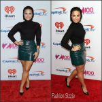 Demi Lovato In Top Shop  – Z100's Jingle Ball 2015 in New York