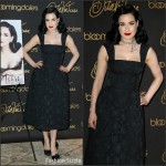 Dita Von Teese – Promote Her New Book 'Your Beauty Mark – The Ultimate Guide to Eccentric Glamour' in New York