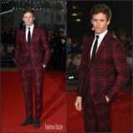 Eddie Redmayne  In Valentino suit – The Danish Girl' London Premiere