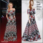 Elizabeth Banks In Elie Saab At  'Star Wars: The Force Awakens' LA Premiere