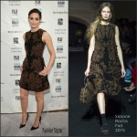 Emmy Rossum In Simone  Rocha  At 25th IFP Gotham Independent Film Awards
