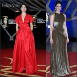 Gemma Arterton In Carolina Herrera  AT  2015 Marrakech International Film Festival