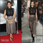 Gugu Mbatha-Raw In Philosophy di Lorenzo Serafini – 'Concussion' New York Premiere