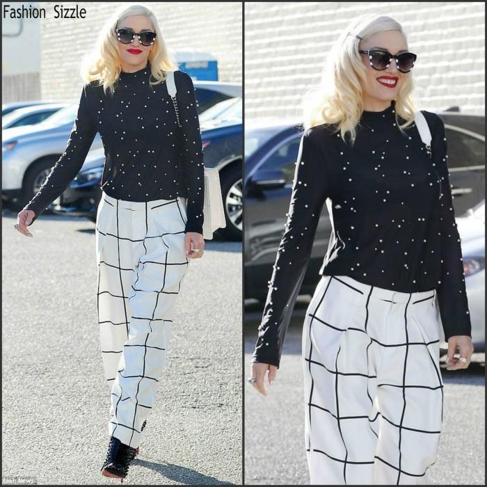 Gwen Stefani in Chloé in Beverly Hills