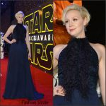 Gwendoline Christie – Star Wars: The Force Awakens' London Premiere