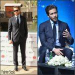 Jake Gyllenhaal In Salvatore Ferragamo – 12th annual Dubai International Film Festival
