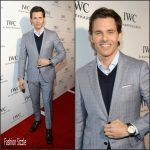 James Marsden In Salvatore Ferragamo  – IWC Schaffhausen Rodeo Drive Grand Opening