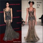 Jenna Dewan-Tatum In Marchesa At  'The Hateful Eight' LA Premiere