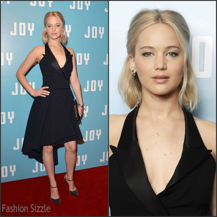 Jennifer Lawrence In Christian Dior Couture – 'Joy' London Screening