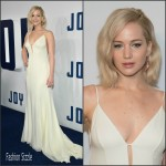 Jennifer Lawrence In Christian Dior Couture At  'Joy' New York Premiere