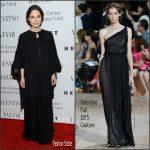 Keira Knightley  In Valentino – at An Evening Honoring Valentino