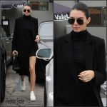 Kendall Jenner shopping in Beverly Hills December 2015