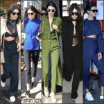 Kendall Jenner style at Fashion Week