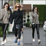 Kendall Jenner was spotted walking with Khloé -Beverly Hills