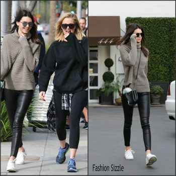kendall-jenner-was-spotted-walking-with-khloe-beverly-hills