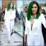 Kylie Jenner  In Olcay Gulsen  –  'Lip Kit by Kylie Jenner' Launch at DASH in Los Angeles, November 2015