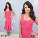 Lea Michele In Michael Kors Collection  At The Hollywood Reporter's Annual Women In Entertainment Breakfast