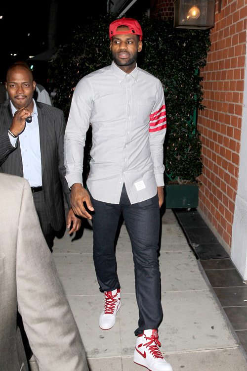 LeBron- James -fashion-stle