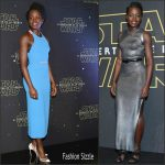 Lupita Nyong'o In Roland Mouret & Louis Vuitton – Star Wars Mexico City Photocall & Premiere