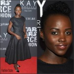 Lupita Nyong'o In ZAC Zac Posen  At  Star Wars 'Force 4 Fashion' Event