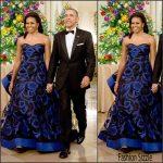 Michelle Obama In Oscar De La Renta – 2015 Kennedy Center Honors Gala
