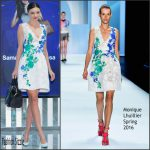 Miranda Kerr In Monique Lhuillier  – 'Samantha Thavasa' Photocall in Seoul