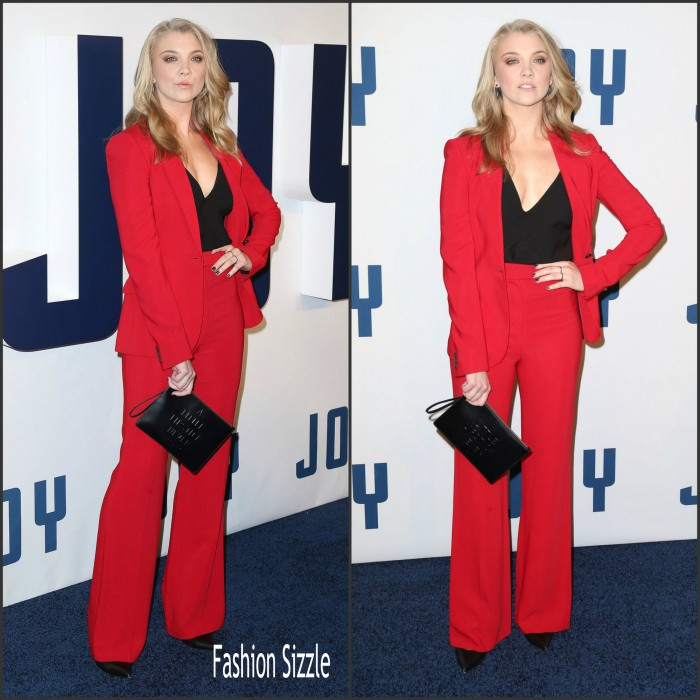 Natalie Dormer  In Issa– 'Joy' Premiere in New York City
