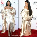 Rihanna In Christian Dior Couture  At The Clara Lionel Foundation 2nd Annual Diamond Ball