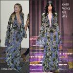 Rita Ora In Atelier Versace – X Factor