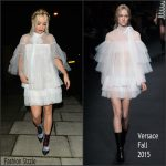 Rita Ora In Valentino – Out In  London