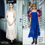 Rooney Mara In Chanel Couture  AT  Chanel Metiers d'Art 2015/16 Fashion Show