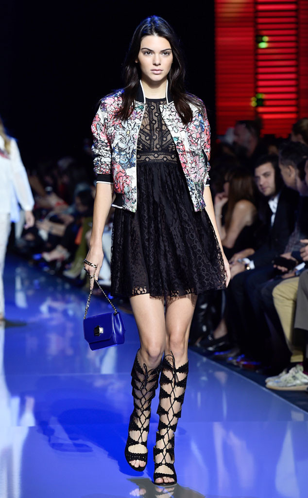 Kendall-Jenner- at -the- Elie -Saab -show