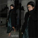 Selena Gomez – Leaving the EDITION Hotel in London, 12/13/2015